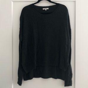 Madewell Dark Gray Knit Sweater | Size M